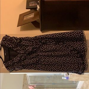 Eloquii Navy polka Dot dress